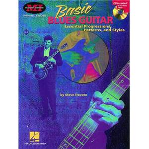 TROVATO STEVE - BASIC BLUES GUITAR TAB. MUSICIAN INSTITUTE + CD
