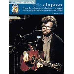CLAPTON ERIC - UNPLUGGED GUITAR SIGNATURE LICKS + CD