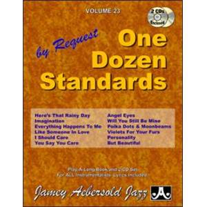 COMPILATION - AEBERSOLD 023 ONE DOZEN STANDARDS + 2CD