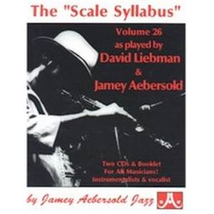 LIEBMAN DAVID - AEBERSOLD 026 SCALE SYLLABUS + 2CD