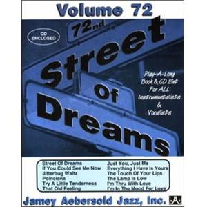 COMPILATION - AEBERSOLD 072 STREET OF DREAMS + CD