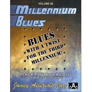 COMPILATION - AEBERSOLD 088 MILLENIUM BLUES + CD