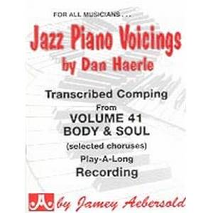 HAERLE DAN - AEBERSOLD 41 JAZZ PIANO VOICINGS