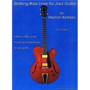 GORDON ANDREW D. - WALKING BASS LINES JAZZ GUITAR + CD