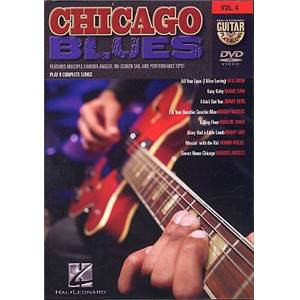 COMPILATION - GUITAR PLAY ALONG DVD VOL.4 CHICAGO BLUES