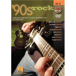 COMPILATION - GUITAR PLAY ALONG DVD VOL.10 90S ROCK