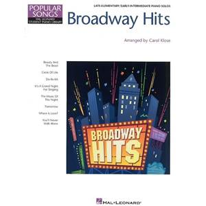 COMPILATION - HAL LEONARD STUDENT PIANO LIBRARY BROADWAY HITS