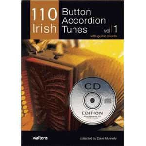 COMPILATION - IRELAND'S BEST IRISH BUTTON ACCORDION (110) + CD