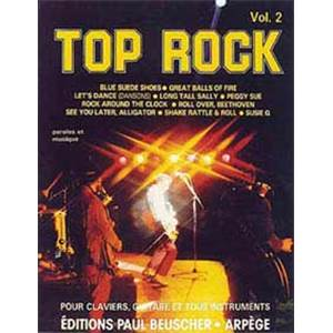 COMPILATION - TOP ROCK VOL.2 LIGNE MELODIQUE ET ACCORDS