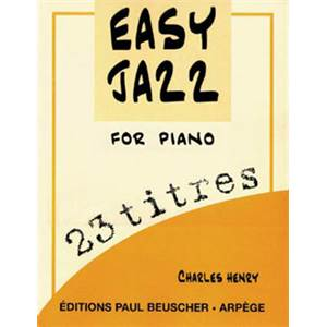 CHARLES HENRY - EASY JAZZ FOR PIANO