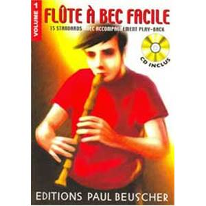 COMPILATION - FLUTE A BEC FACILE VOL.1 + CD