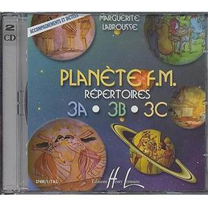 LABROUSSE MARGUERITE - PLANETE F.M. 3A 3B 3C ACCOMPAGNEMENT CD