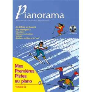 JEAN F. / JEAN C. / LECUSSANT - PIANORAMA MES PREMIERES PISTES METHODE ENFANTS + CD