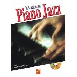 MINVIELLE SEBASTIA PIERRE - INITIATION AU PIANO JAZZ + CD