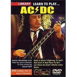 AC/DC - DVD LICK LIBRARY LEARN TO PLAY AC/DC