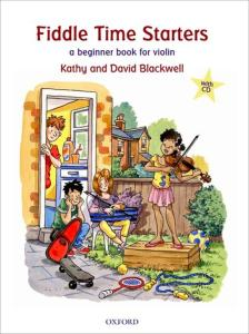 BLACKWELL KATHY ET DAVID - FIDDLE TIME STARTERS (EDITION REVISEE) +CD - VIOLON