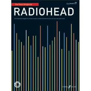 RADIOHEAD - PIANO SONGBOOK BEST OF P/V/G DISPO LE 15/11/10