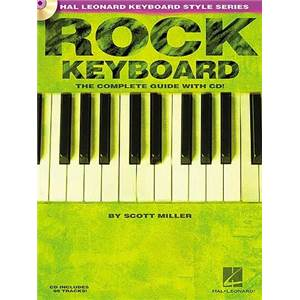 MILLER SCOTT - ROCK KEYBOARD COMPLETE GUIDE + CD