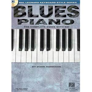 HARRISON MARK - BLUES PIANO COMPLETE GUIDE + CD