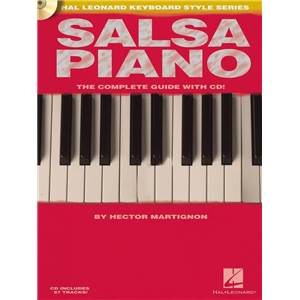 MARTIGNON - SALSA PIANO COMPLETE GUIDE + CD