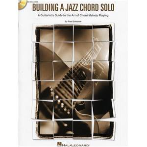 SOKOLOW FRED - BUILDING A JAZZ CHORD SOLO GUITAR TAB. + CD
