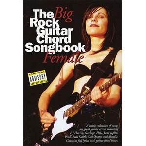 COMPILATION - BIG GUITAR CHORD SONGBOOK : FEMALE ROCK