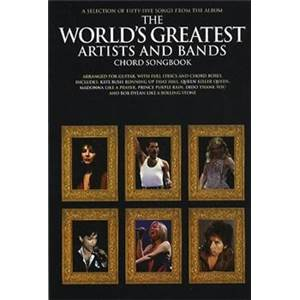 COMPILATION - THE WORLD'S GREATEST ARTISTS AND BANDS CHORD SONGBOOK Épuisé