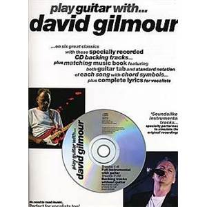 GILMOUR DAVID - PLAY GUITAR TAB. + CD