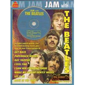 BEATLES THE - JAM WITH VOL.1 GUITAR TAB. + CD