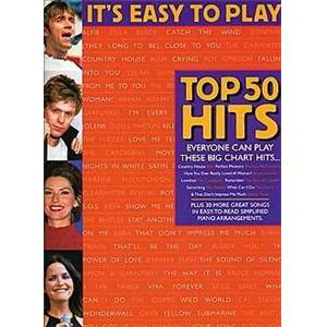 COMPILATION - IT'S EASY TO PLAY TOP 50 HITS 4 ÉPUISÉ