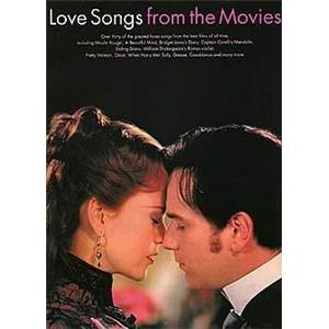 COMPILATION - LOVE SONGS FROM THE MOVIES P/V/G
