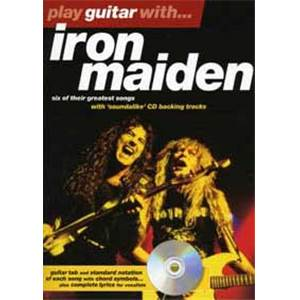 IRON MAIDEN - PLAY GUITAR WITH... + CD