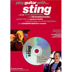 STING - PLAY GUITAR WITH + CD