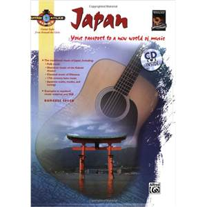 SPEED BURGESS - GUITAR ATLAS JAPAN YOUR PASSPORT TO A NEW WORLD OF MUSIC + CD