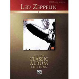 LED ZEPPELIN - CLASSIC ALBUM VOL.1 EDITIONS GUITAR TAB