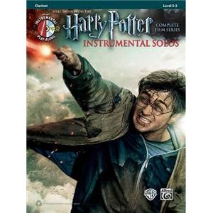COMPILATION - HARRY POTTER CLARINET SOLOS + CD