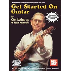 ATKINS CHET - GET STARTED ON GUITAR TAB. + CD