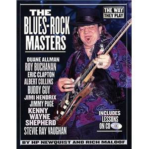 COMPILATION - BLUES ROCK MASTERS THE WAY THEY PLAY TAB+ CD