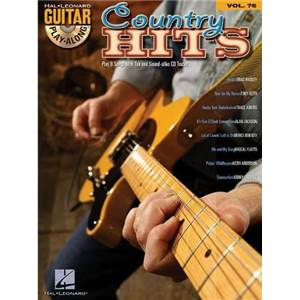 COMPILATION - GUITAR PLAY ALONG VOL.076 COUNTRY HITS + CD