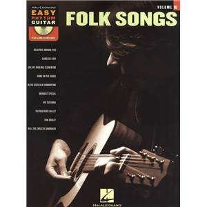 COMPILATION - EASY RHYTHM GUITAR VOL.10 FOLK SONGS + CD