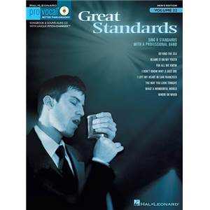 COMPILATION - PRO VOCAL FOR MALE SINGERS VOL.22 GREAT STANDARDS + CD