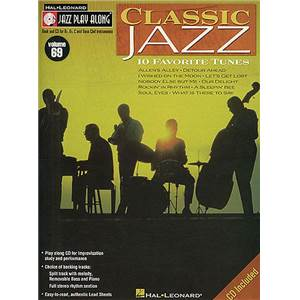 COMPILATION - JAZZ PLAY ALONG VOL.069 CLASSIC JAZZ + CD