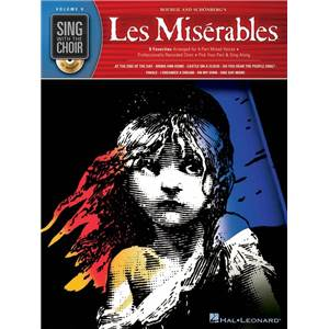 BOUBLIL / SCHONBERG - LES MISERABLES SING WITH THE CHOIR VOL.09 + CD