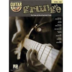 COMPILATION - GUITAR PLAY ALONG VOL.088 GRUNGE + CD
