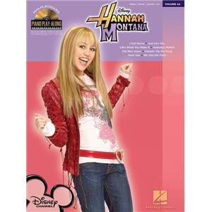 HANNAH MONTANA - PIANO PLAY ALONG VOL.066 + CD