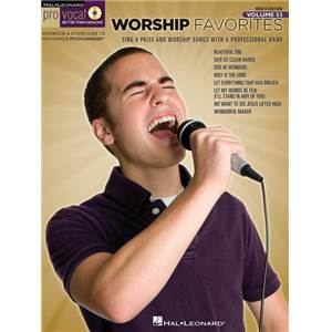 COMPILATION - PRO VOCAL FOR MALE SINGERS VOL.53: WORSHIP FAVORITES + CD