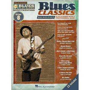 COMPILATION - BLUES PLAY ALONG VOL.8 : BLUES CLASSICS + CD