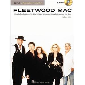 FLEETWOOD MAC - GUITAR SIGNATURE LICKS + CD