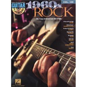 COMPILATION - GUITAR PLAY ALONG VOL.128 1960S ROCK + CD