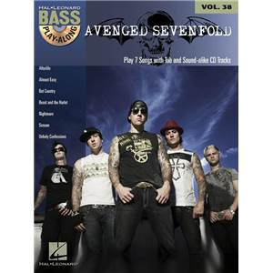 AVENGED SEVENFOLD - BASS PLAY ALONG VOL.38 + CD
